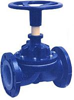 Flanged End Manual Cast Iron Diaphragm Valves (Hypalon